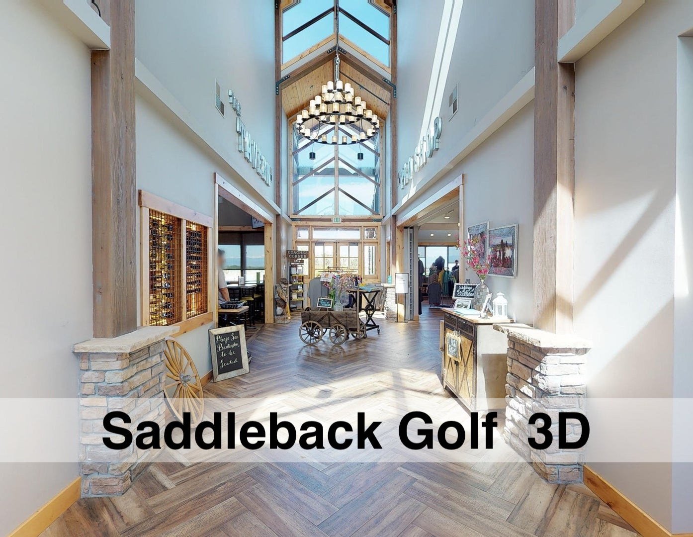 Explore Saddleback Golf Course 3D