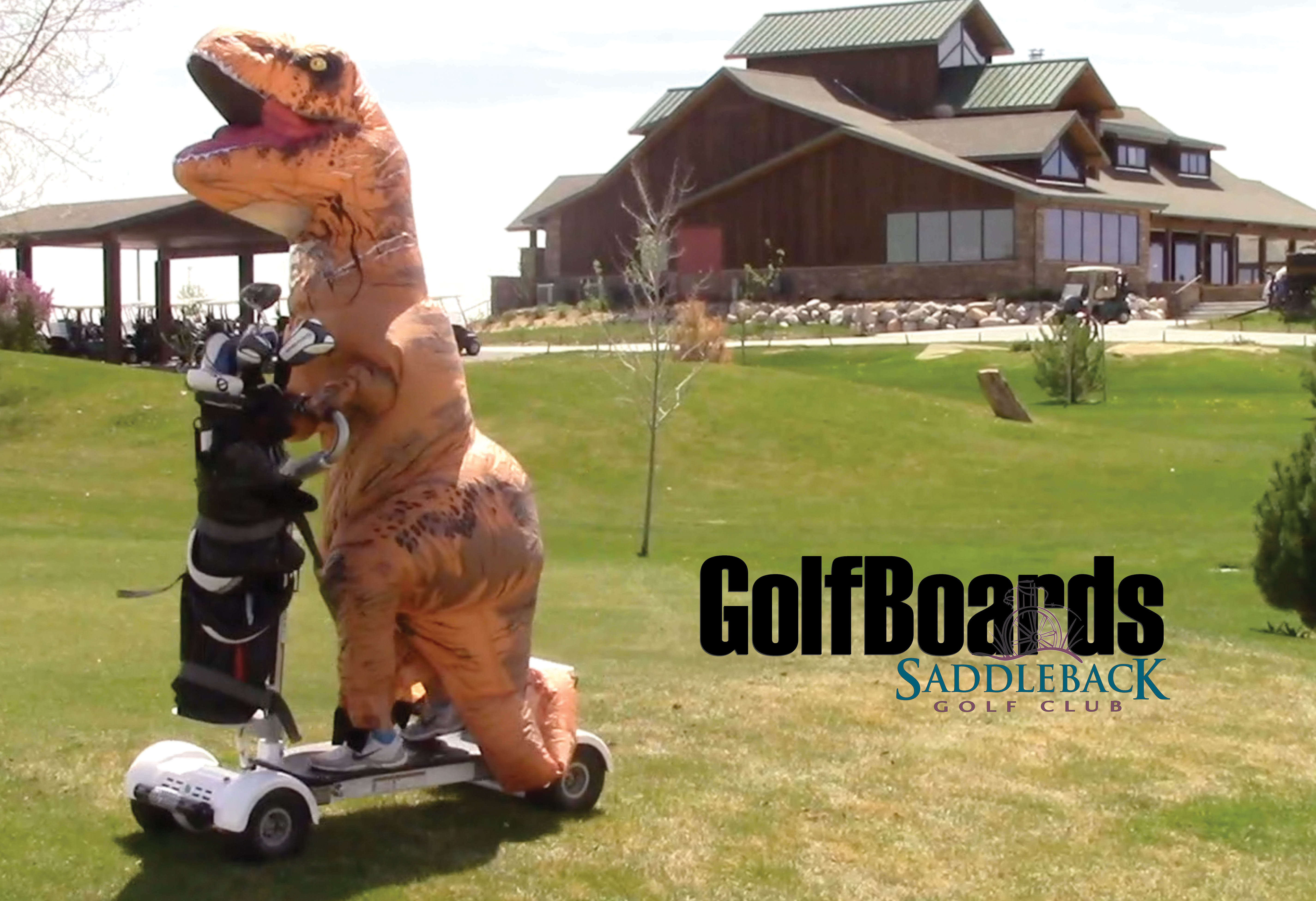 GolfBoards at Saddleback T rex