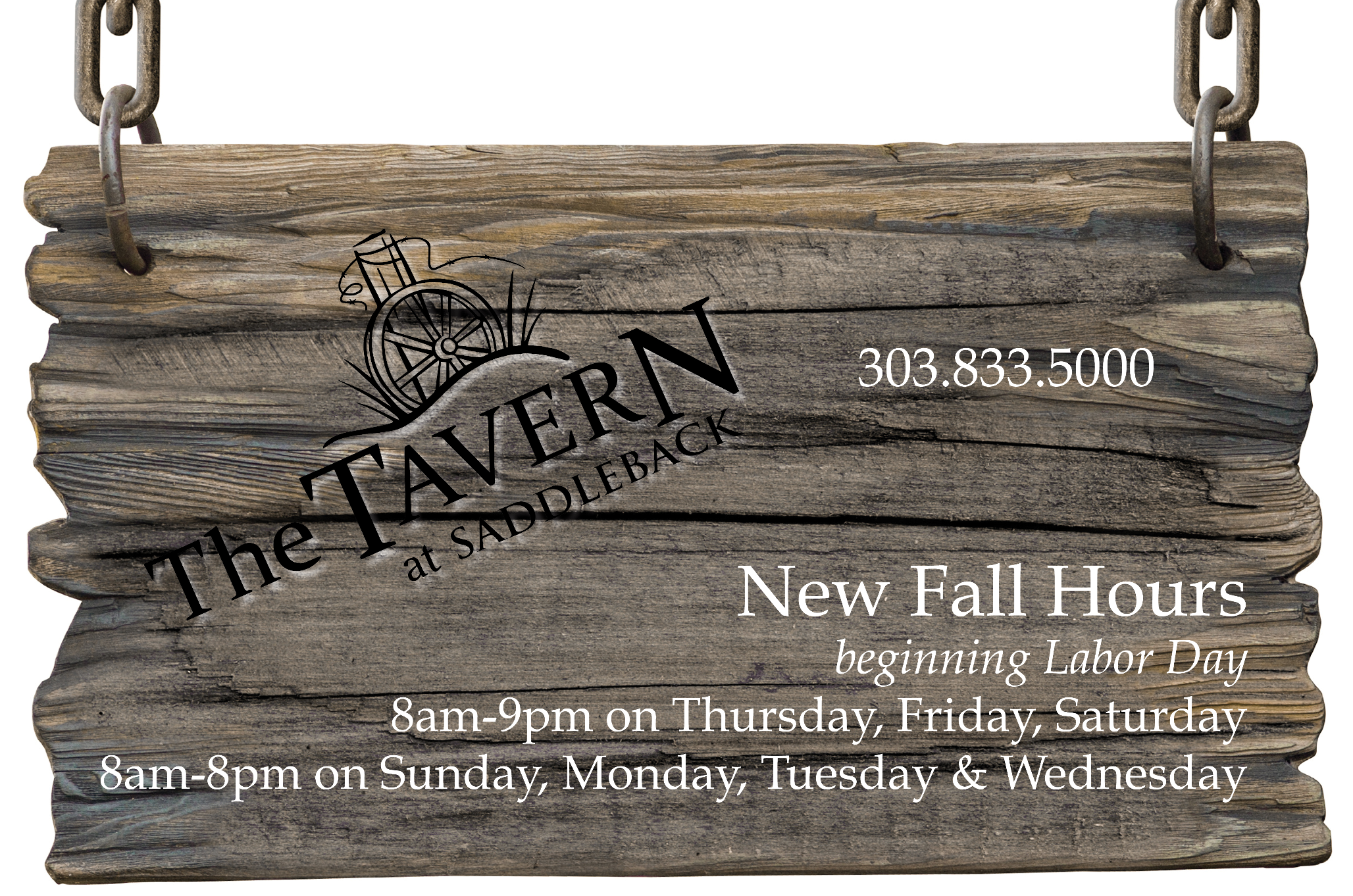 New Fall Hours 2017 screen
